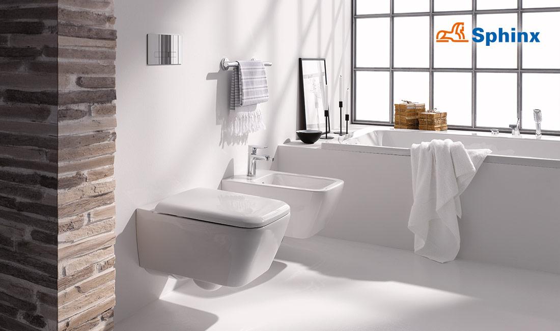 Sphinx Rimfree Toilet : Sphinx rimfree toilet zonder spoelrand zeist