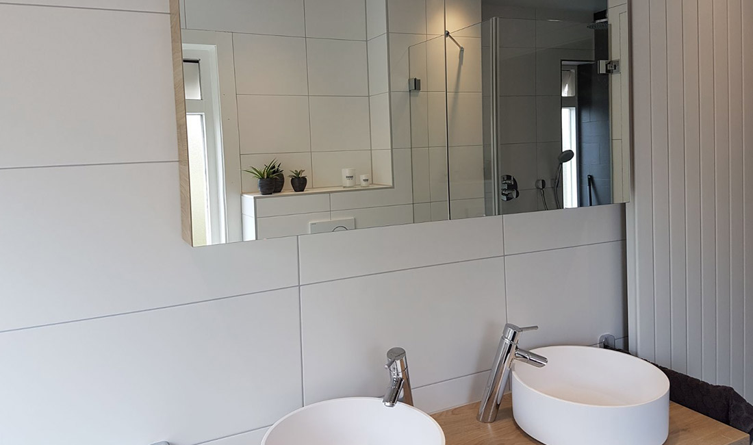 badkamer met maatwerk douchecabine in zeist | zeist, Badkamer