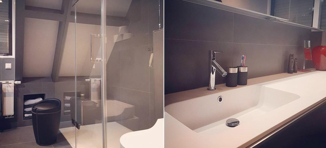 Badkamer inclusief toiletruimte in Odijk   Zeist