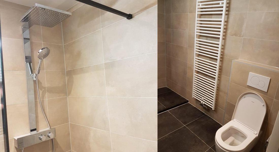 Moderne en stoere badkamer in ijsselstein zeist