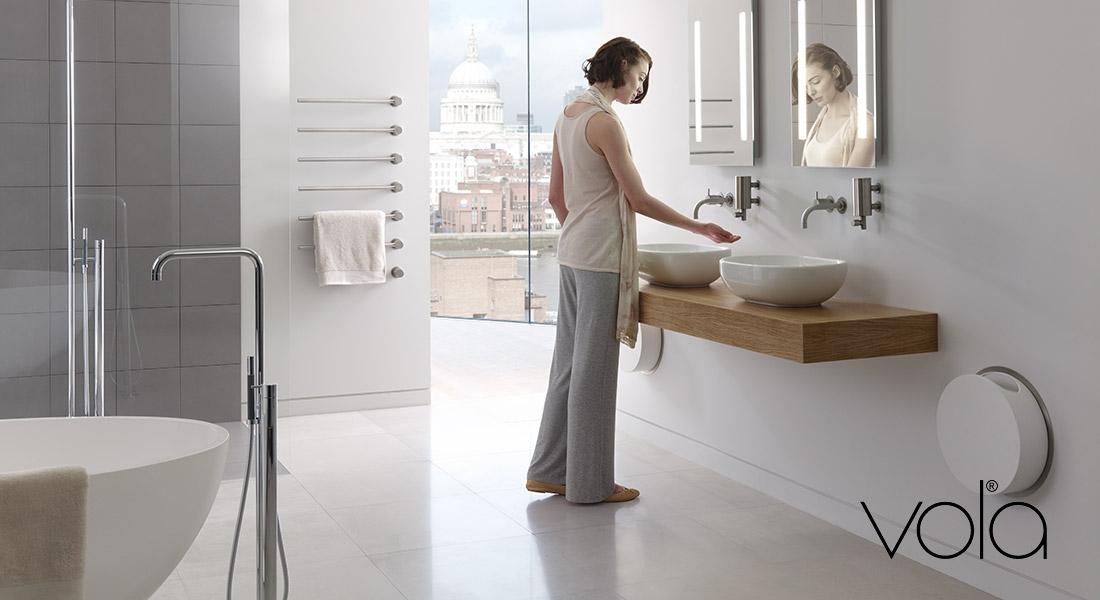 Vola design kranen voor wastafel douche en bad zeist